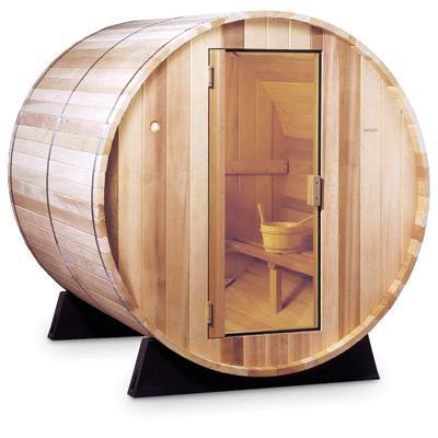 Sauna Barel, vnitřní a venkovní pro 2