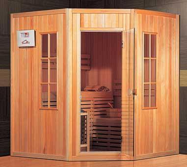 Sauna Marit pro 3. osoby