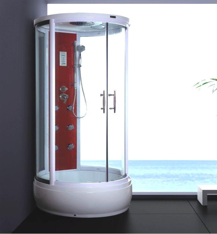 Sprchový kout s vysokou vaničkou