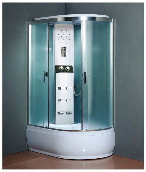 Masážní a sprchový box SCARLETT levá 120x80x215cm