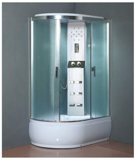 Masážní s sprchový box SCARLETT pravá 120x80x215cm
