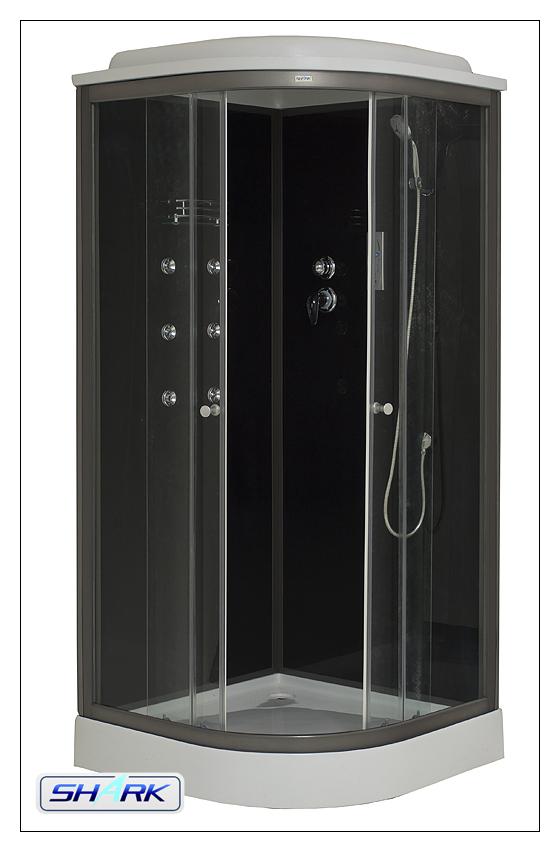Masážní a sprchový box SCARLET 90x90
